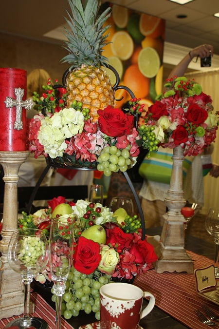 1000 images about floral arranging with fruit and Floral arrangements with fruit