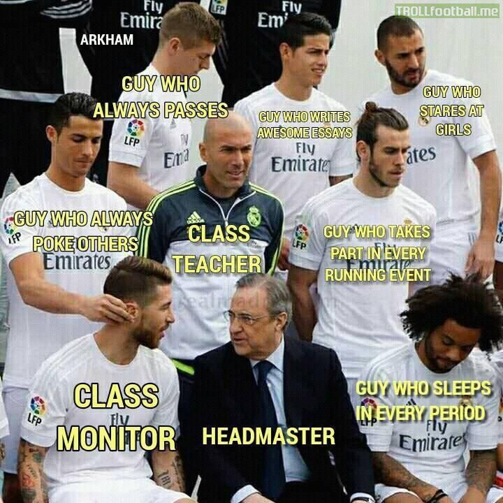 The image - 'Tag your classroom buddy :D' was posted by Troll_Football on 22 January, 2016 .Click here to see the image on Troll Football - The best site for Football trolls, images, gifs, videos and more.