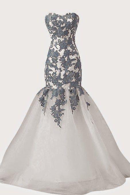 lace dress: Gray Lace Dress