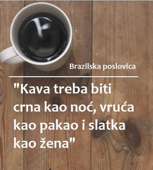 O kavi, caffe....