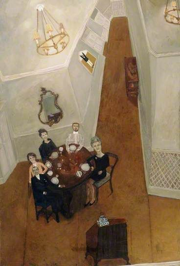 The Dinner Party  by Anthony Green (1966)