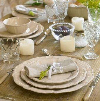 Tableware -- elegant.