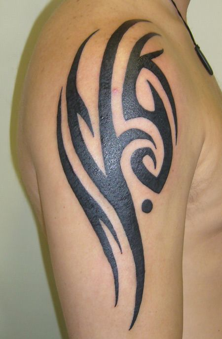awesome Simple Tribal Sign Tattoo 34 - Stylendesigns.com!