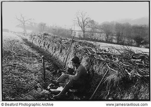 Another very evocative scene for me, this time by James Ravilious, another of my favorite photographers, but one I discovered when I moved to Britain.