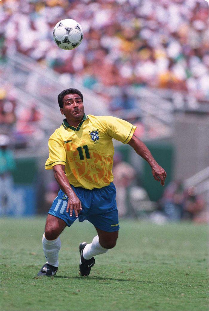 Romário campeão em 1994 na Copa dos Estados Unidos.