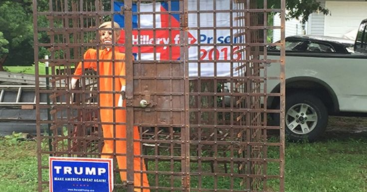 REPORT: 'Hillary For Prison Shirt' Nets More Searches Than 'Hillary Bumper…