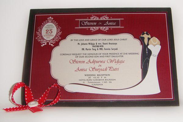 Konsep Undangan Pernikahan Indonesia - Wedding Invitation 5