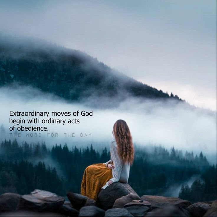 Extraordinary moves of God begin with ordinary acts of obedience.