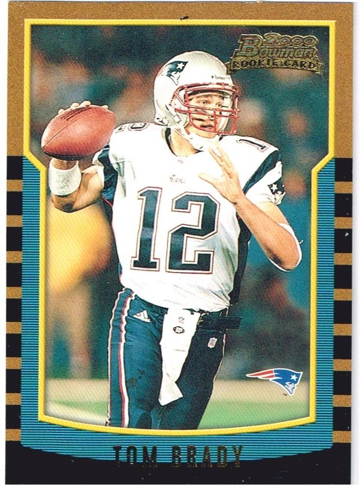 Tom Brady ROOKIE Card : Near MINT right from the Pack ! Bowman  236   PSA 9 or 1 #NewEnglandPatriots