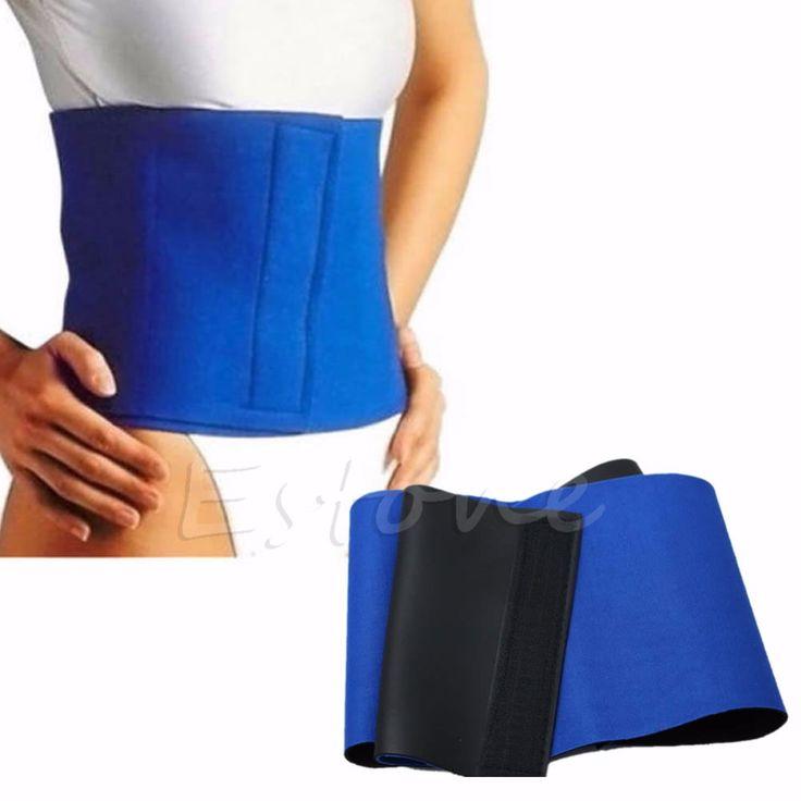 Waist Trimmer Exercise Burn Fat Sweat Weight Loss Slimming Body Shaper Wrap Belt