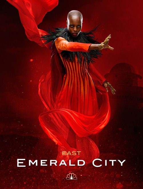 "superheroesincolor: "" Florence Kasumba as the Wicked Witch of the East in NBC's ""Emerald City"" ""NBC has given a 10-episode straight-to-series order for ""Emerald City,"" a reimagining of the classic Frank L. Baum books that have inspired everything..."