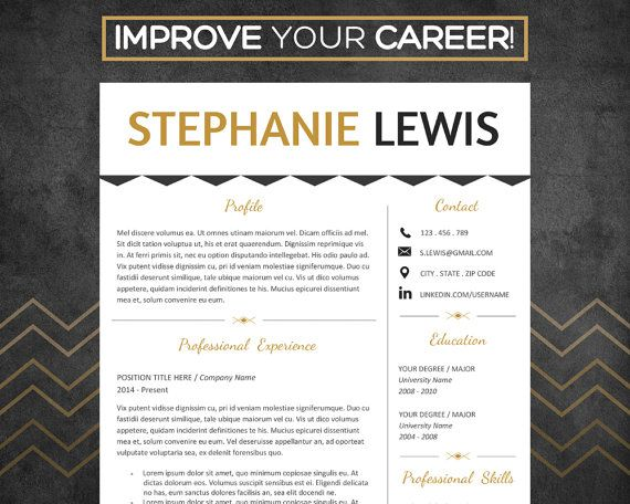 34 best Resume Templates images on Pinterest Resume templates - modern resume templates word