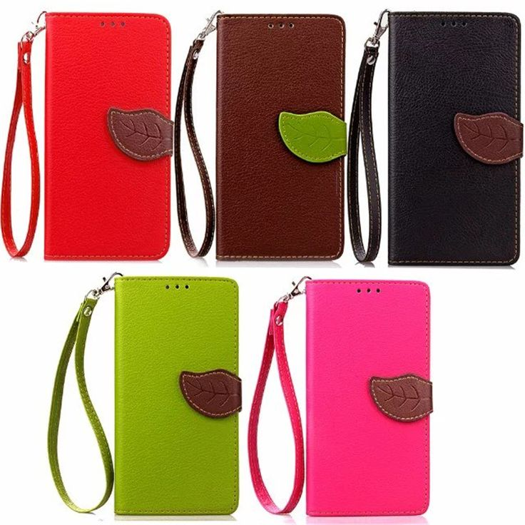 Wallet Leather Case For Acer Liquid Z530 Leaf Design Protective Cover Pouch For Acer Z530 Flip Case with Wrist Strap