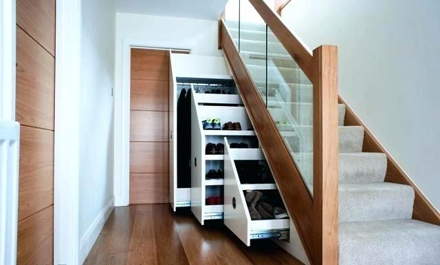 stairs with storage drawers image of how to build under stairs storage drawers under stairs ...