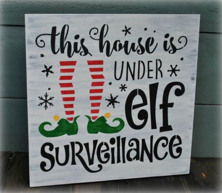 This house is under elf Surveillance!