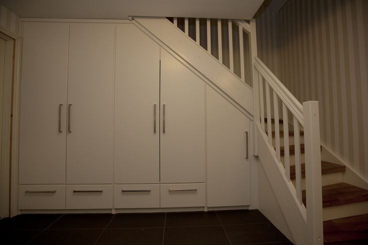 inspiration stairs and buildin wardrobe...
