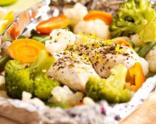 Papillote de blancs de poulet et légumes : http://www.fourchette-et-bikini.fr/recettes/recettes-minceur/papillote-de-blancs-de-poulet-et-legumes.html