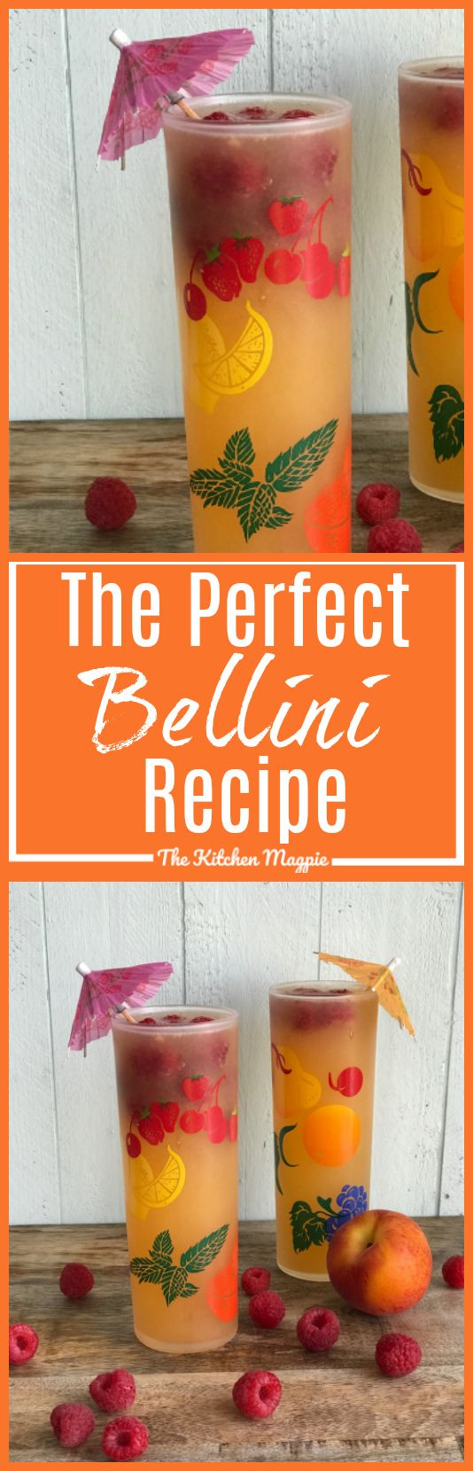 Looking for the Perfect Bellini Recipe? Try this amazing one from @kitchenmagpie!
