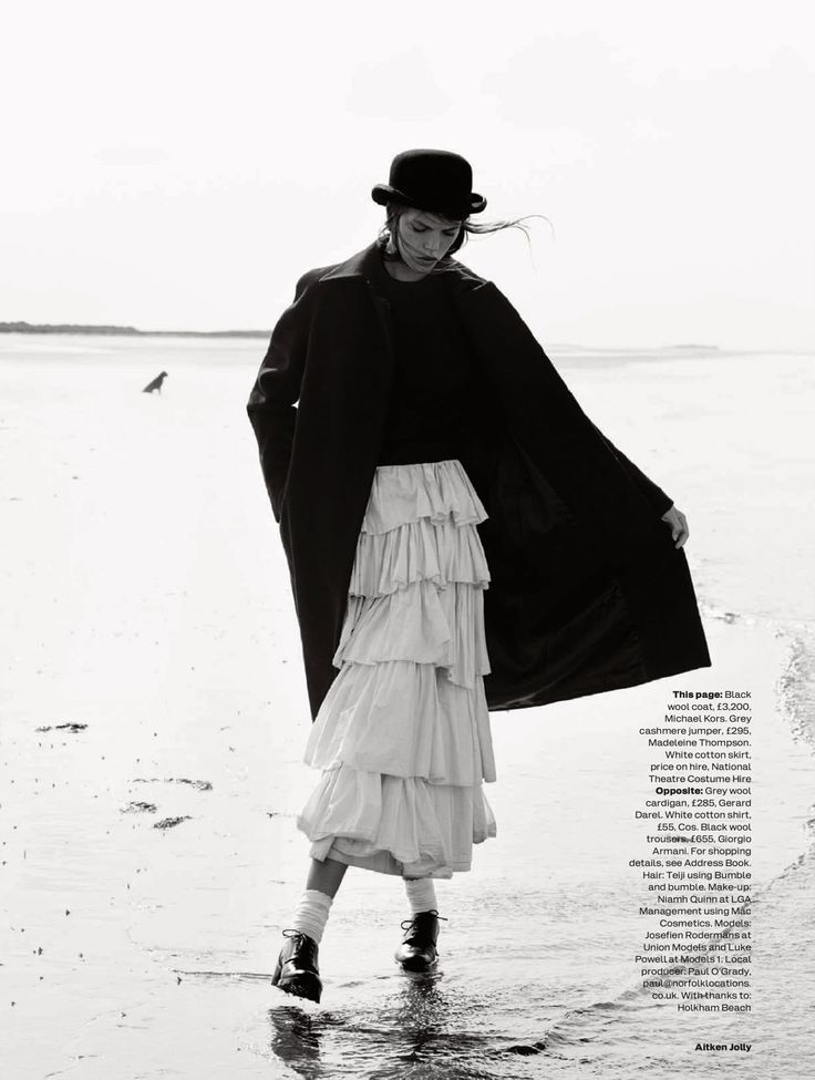 visual optimism; fashion editorials, shows, campaigns & more!: the new puritan: josefien rodermans and luke powell by aitken jolly for uk elle november 2014