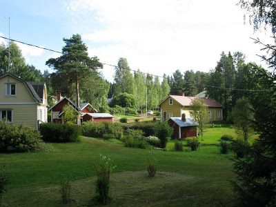 Putikko - a neighbourhood in Punkaharju with its lovely history and old wooden houses.