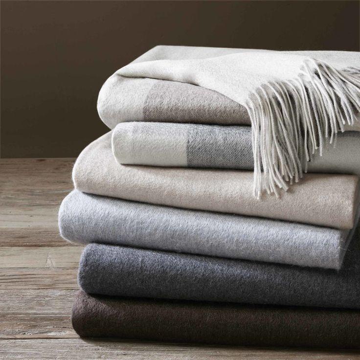 Cashmere Throw Blanket