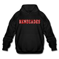 Hoodies ~ Men's Big & Tall Hoodie ~ The Renegade Hooded Sweatshirt Big
