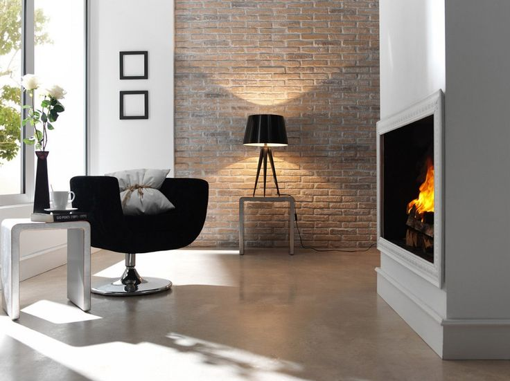 1000 images about panelpiedra brick on pinterest On imitacion ladrillo interior
