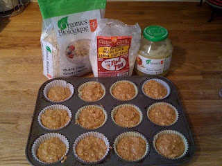 Gluten-Free Sweet Potato Muffins.  YUM!