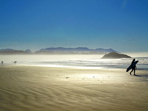 Tofino, British Columbia. The surfing capital of Canada.
