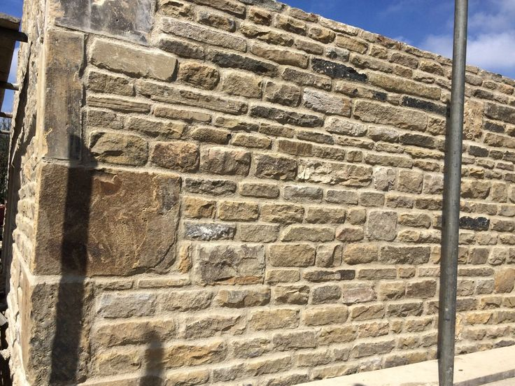 Yorkshire Stone Random Backings Walling In Business Office Industrial Building Materials Supplies