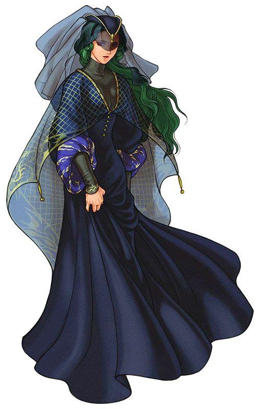 Fire Emblem: Radiant Dawn: Almedha
