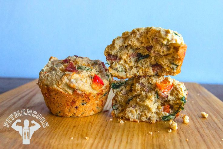 Try this Oat, Turkey & Cheese Breakfast Muffins from the FitMenCook app