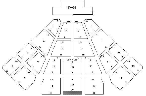 Timberwolf Amphitheater seating chart Things to Do in Cincinnati - seating chart