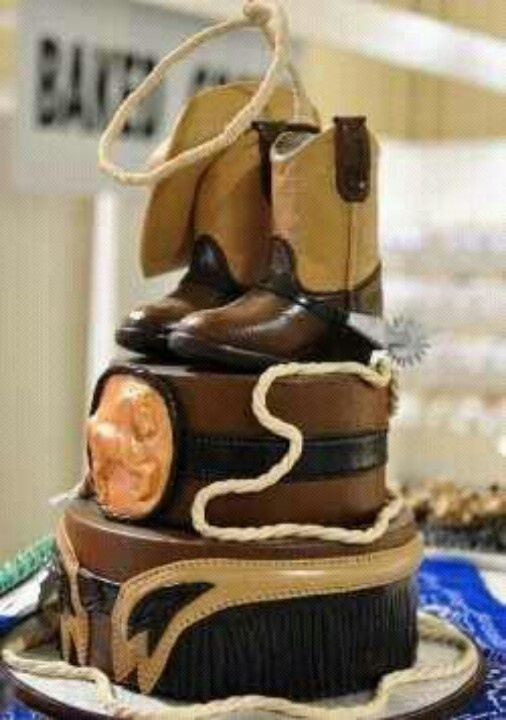 15 best western cake images on Pinterest Cowgirl party Cowboy