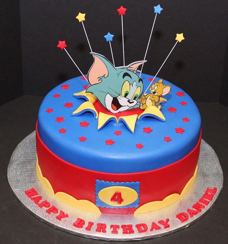 Tom and Jerry Cake by Cecy Huezo and Marina Lamb . www.delightfulcakesbycecy.com