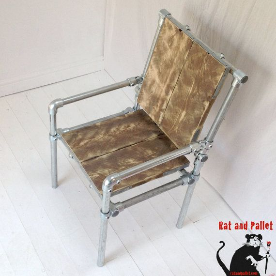 Office Chair For Sale in Metal Pipe and Scaffold by RatAndPallet