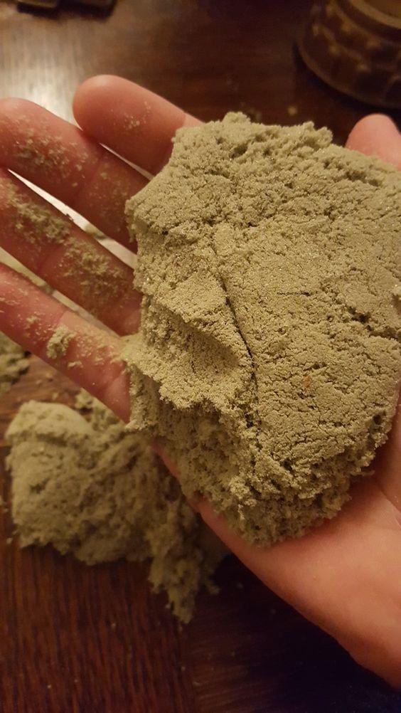 Recette maison du sable magique - Magic Sand