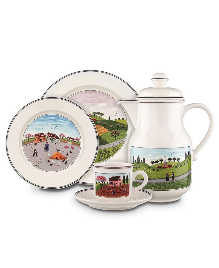 Villeroy & Boch Dinnerware, Design Naif Collection - Casual Dinnerware - Dining & Entertaining - Macy's