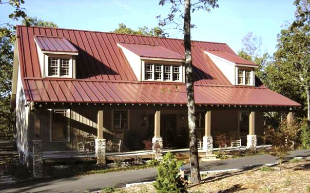 Beautiful Rustic Country Home w/ Super Open Layout (HQ Plans & Pictures) | Metal Building Homes
