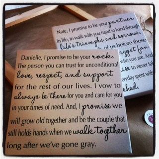 44 best Heartfelt Vows images on Pinterest | Wedding ideas ...