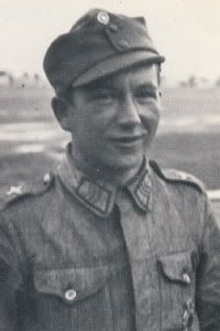 Leo Ahokas Born 25 Apr 1915 & Died 25 Oct 1988.  Flew Bf-109's for the Finnish Air Force and had 12-aerial victories.