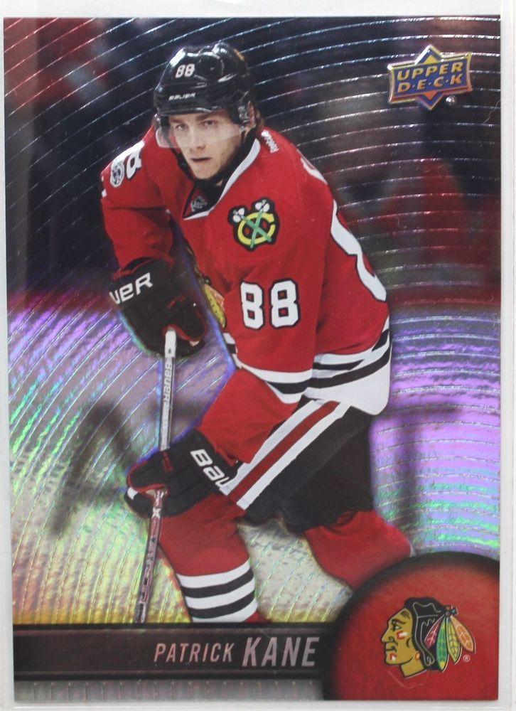 2017-18 Patrick Kane Tim Hortons Upper Deck NHL Hockey Card - #88 #ChicagoBlackhawks
