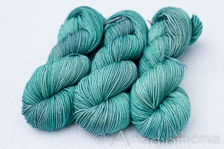 Cloud DK - Blue Topaz- Colour Adventures (fibers: superwash merino, nylon, cashmere) by ColourAdventures on Etsy https://www.etsy.com/listing/209667248/cloud-dk-blue-topaz-colour-adventures