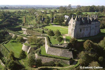 La Roche Jagu Castle in Brittany France