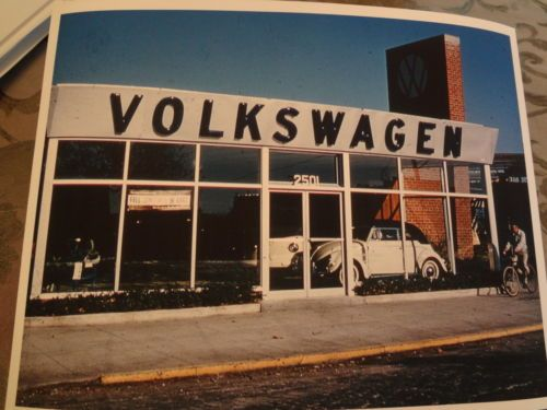 1959-Before Kings Plaza there was this VW dealership on the corner of Flatbush & Ave. U