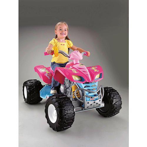 "Power Wheels Fisher-Price Kawasaki KFX Quad Ride On - Barbie - Power Wheels - Toys ""R"" Us.    I WISH!!"