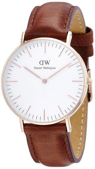 Daniel Wellington Women's Quartz Watch Classic St Mawes Lady 0507DW with Leather Strap