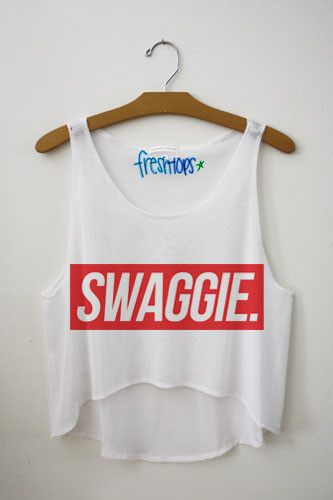 Swaggie. Fresh Tops Crop Top