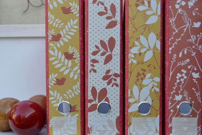 Lever Arch Labels: Birds & Leaves clr1 by Design-A-File on hellopretty.co.za