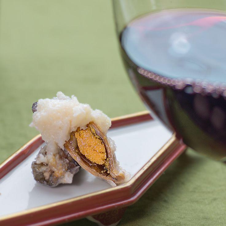 鮒寿司とワイン